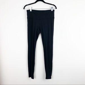 "Alo Yoga Black Skinny Leggings 9"" Rise Size M"